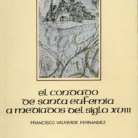 Libro 'El Condado de Santa Eufemia a mediados del siglo XVIII'