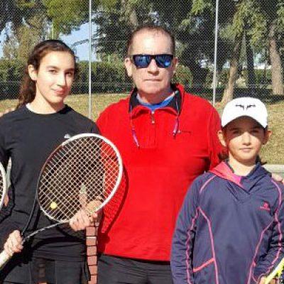 El Club Tenis Pozoblanco comienza con victoria el Infantil Femenino por Equipos de Andalucía
