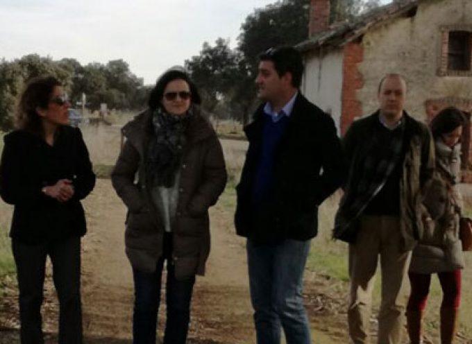 Diputación invierte más de 70.000 euros en el tramo de la Vía Verde de la Minería que transita por Villanueva del Duque
