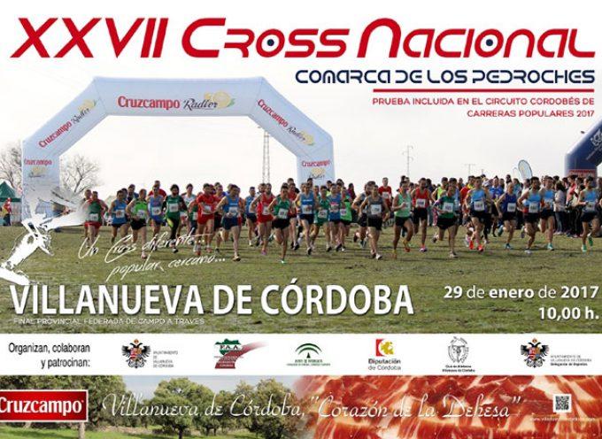 Aún hay tiempo para participar en el XXVII Cross Nacional Comarca de Los Pedroches