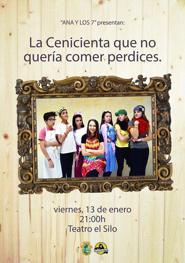 Puesta en escena de la Escuela Municipal Infantil de Teatro en el Teatro El Silo