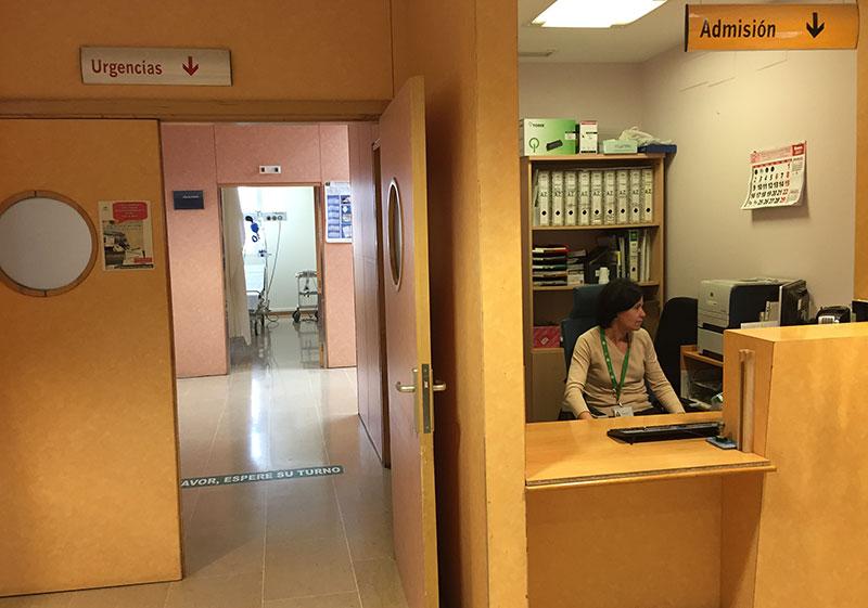 Urgencias del Hospital Valle de los Pedroches