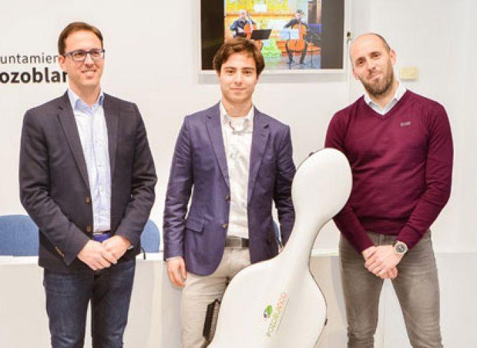 El violonchelista Antonio Serrano Pérez, nuevo embajador de la Marca Pozoblanco