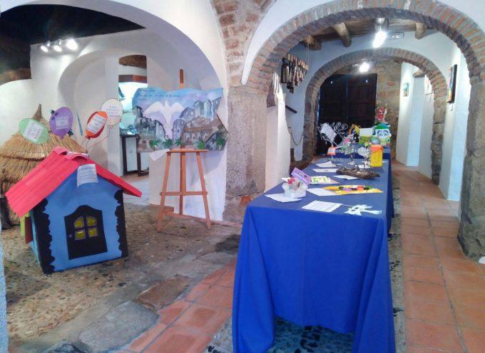 Los trabajos del concurso 'Construye tu mensaje positivo' en el Museo del Pastor