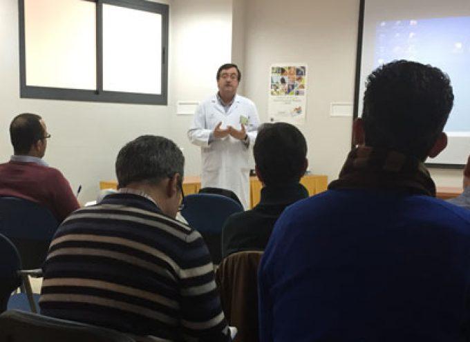 El Hospital de Los Pedroches acoge un encuentro de profesionales para presentar el nuevo Módulo de Pruebas Analíticas