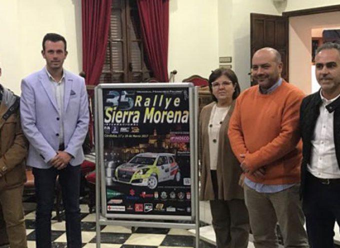 Pozoblanco y Villanueva de Córdoba renuevan su compromiso con el Rallye Sierra Morena 2017