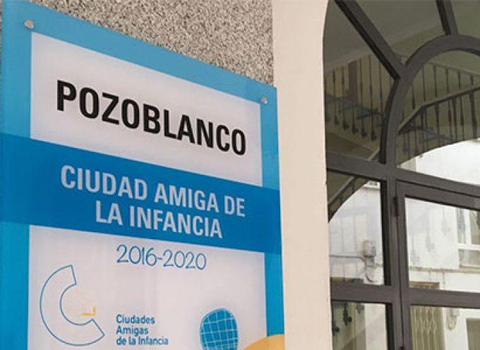 Entregado el Sello Ciudad Amiga de la Infancia en los centros educativos de Pozoblanco