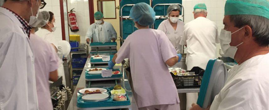Un menú especial a los pacientes del Hospital Valle de los Pedroches