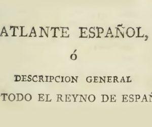 Descripción de 'Conquista' en el Atlante Español