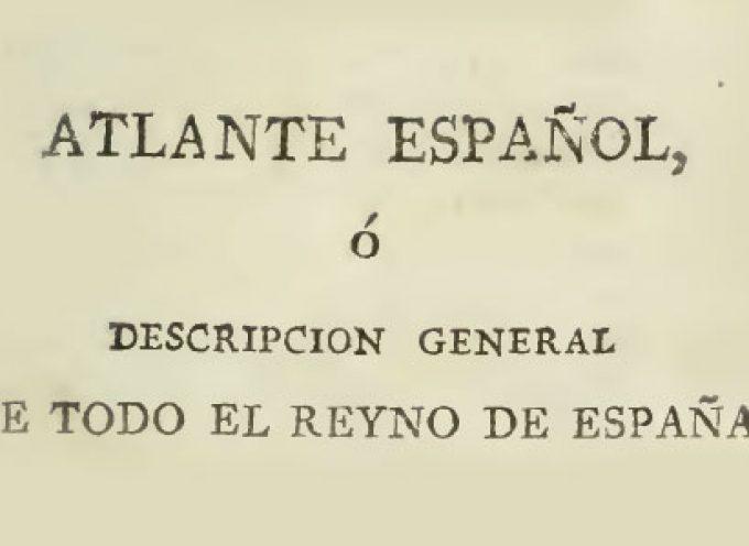 Descripción de 'Alcazarejo' en el Atlante Español
