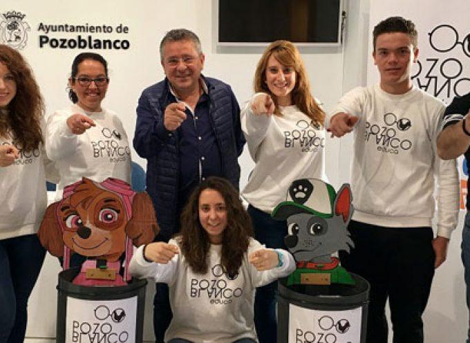 Una quedada para llevar a cabo una campaña de limpieza en Pozoblanco