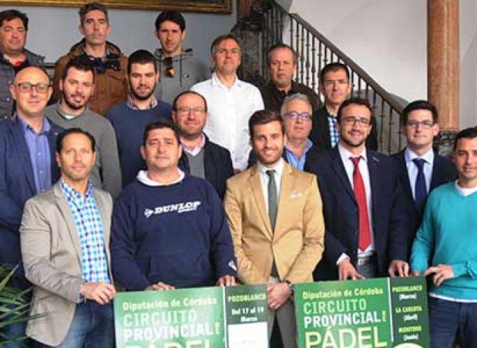 Pozoblanco formará parte del 2º Circuito Provincial de Pádel