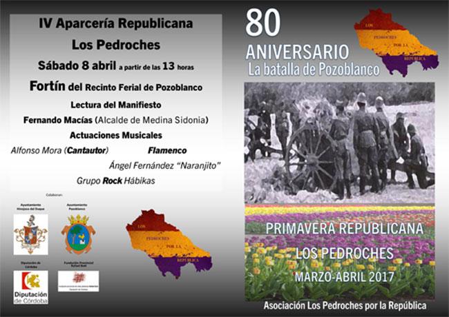 Primavera Republicana en Los Pedroches