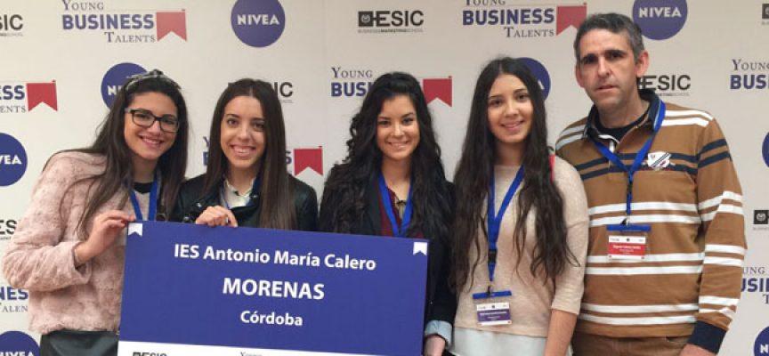 Alumnas del IES Antonio María Calero quedaron finalistas en el 'Young Business Talent'