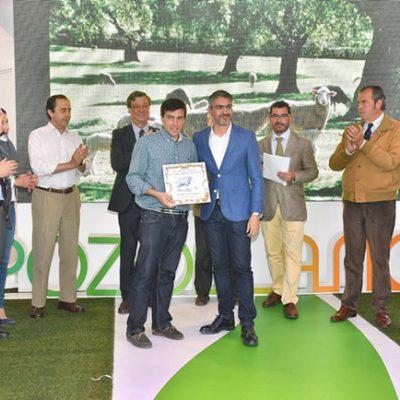 Premiados en los concursos de ganaderías de la Feria Agroganadera de Pozoblanco