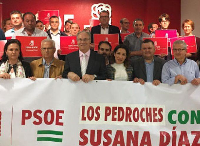 La constitución del grupo de apoyo a Susana Díaz en los Pedroches convoca a más de un centenar de militantes