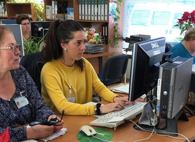 El Área Sanitaria Norte de Córdoba forma a estudiantes en prácticas de Administración