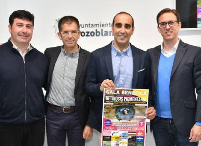 Una gala benéfica en Pozoblanco para recaudar fondos en la investigación de la retinosis pigmentaria