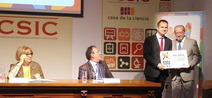 El municipio de Dos Torres, premio 'EducaCiudad'