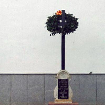 Reacciones al homenaje 'a los caídos' realizado en Dos Torres