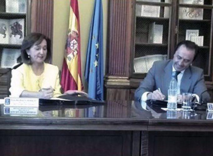 La Biblioteca Nacional de España y COVAP firman un Convenio para el patrocinio de la exposición COSMOS