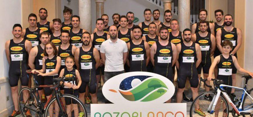 El Club de Triatlón, nuevo colectivo que se suma a los Embajadores del programa 100% Pozoblanco