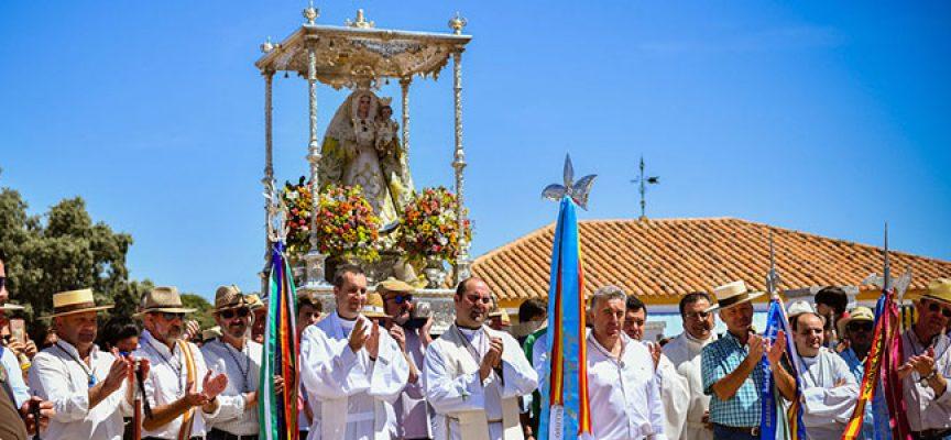 La Virgen de Luna llegó a Villanueva de Córdoba