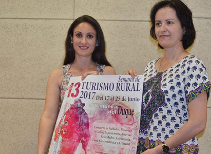 La 13 Semana de Turismo Rural de Villanueva del Duque ofrece al visitante una amplia y variada oferta de actividades