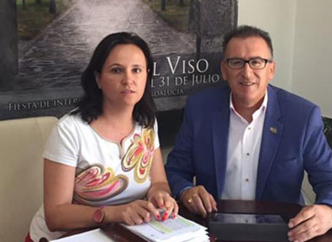Junta y Ayuntamiento de El Viso analizan el estado de conservación de la carretera A-3177