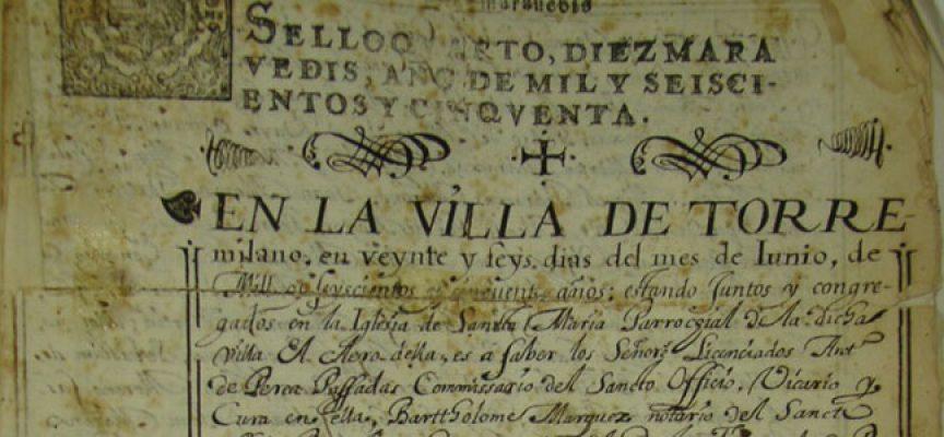 El Ayuntamiento de Dos Torres pone en marcha la digitalización de su archivo histórico