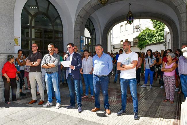 Concentración en Pozoblanco