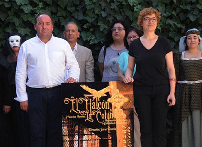 Belalcázar vuelve a poner en escena la obra de teatro popular 'El halcón y la columna'