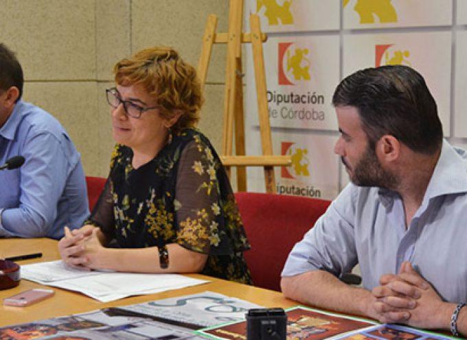 El Festival de Teatro Clásico y la Ruta de la Tapa de Dos Torres se presenta en Diputación de Córdoba