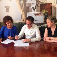 El Ayuntamiento de Pozoblanco firma un convenio con Acuide aportando una subvención de 6000 euros