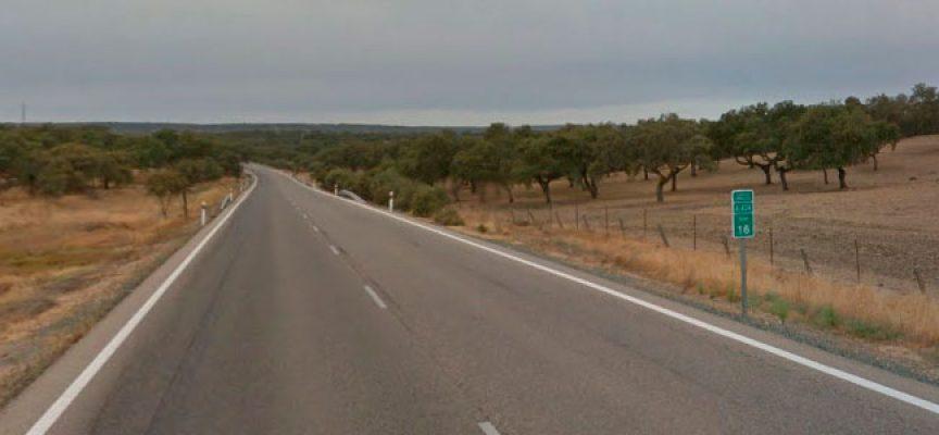 Cuatro heridos en un accidente en la carretera de Cardeña a Villanueva de Córdoba