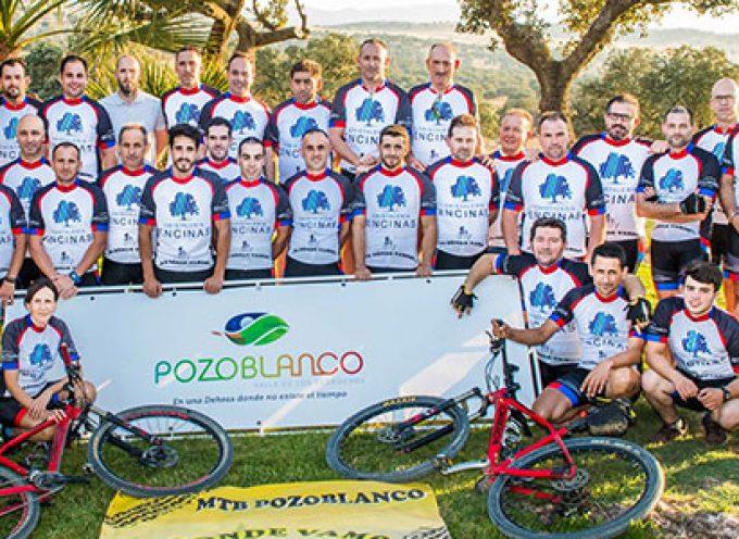 El grupo ciclista 'Pa dónde vamos?', Embajadores del programa '100% Pozoblanco'