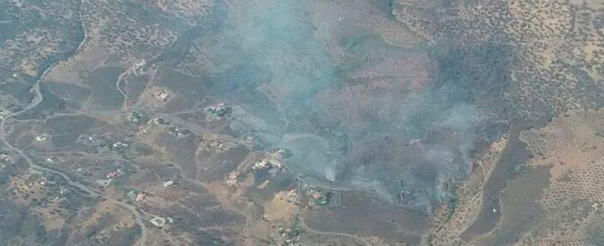 Incendio en el paraje Loma y Callejones de Arrocejos, Pozoblanco