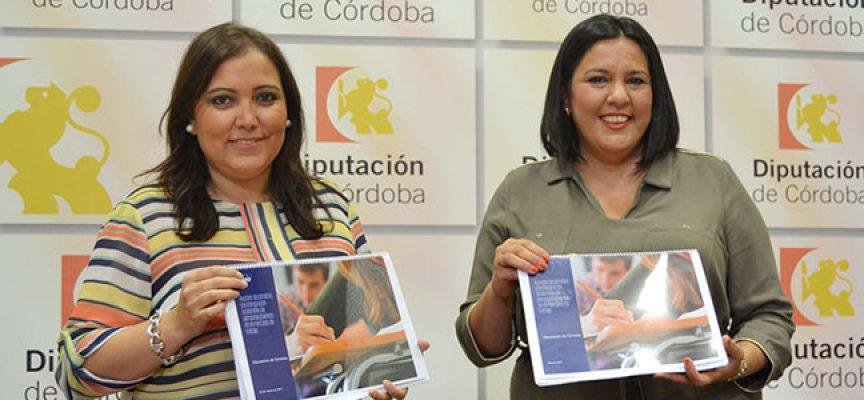 1,6 millones a Diputación para favorecer la integración laboral de los jóvenes de la provincia de Córdoba