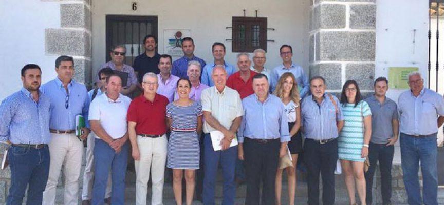 Nueva reunión en la Mancomunidad de Los Pedroches de la mesa de trabajo que trata la falta de agua