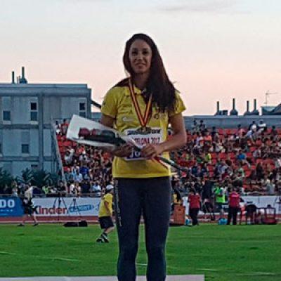 La noriega Carmen Romero, campeona de España de heptatlón