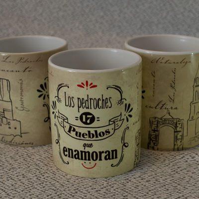 'Los Pedroches, 17 pueblos que enamoran', una taza de recuerdo