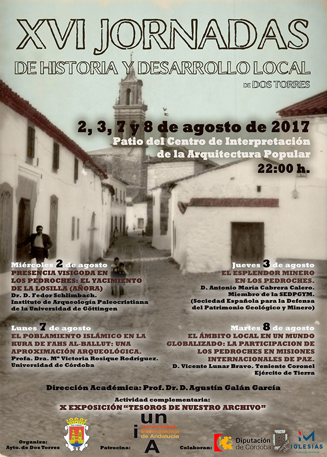 XVI Jornadas de Historia y Desarrollo Localde Dos Torres