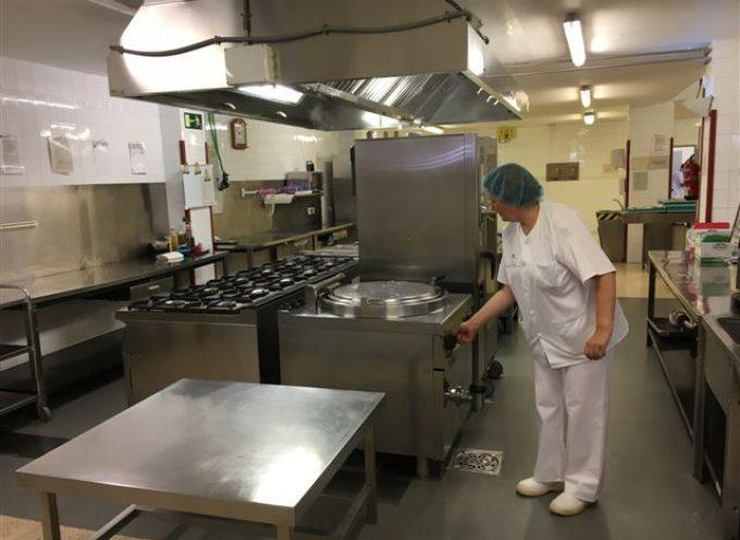 Finalizan las obras de mejora y renovación de la cocina del Hospital Valle de los Pedroches