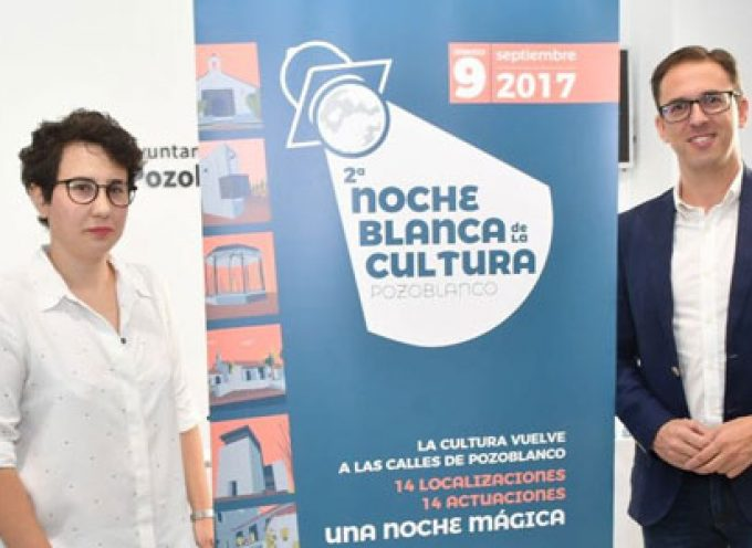 Vuelve la Noche Blanca de la Cultura a Pozoblanco con más de 300 participantes