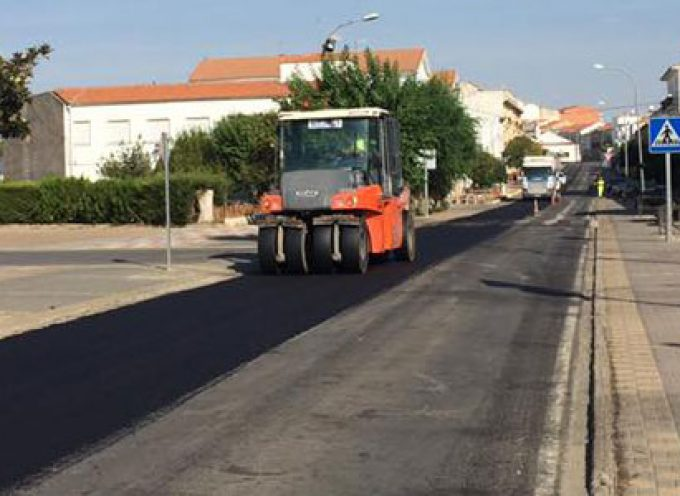 Comienzan las obras en la carretera A-3177, que une El Viso con Pozoblanco