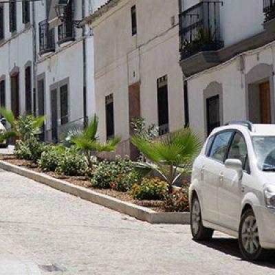 Finalizadas las obras de remodelación de la calle Romo de Pozoblanco