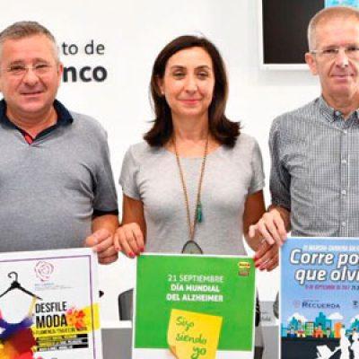 Actividades en beneficio de los enfermos de Alzheimer en Pozoblanco