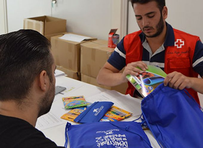 Menores de Los Pedroches recibirán material escolar a través de Cruz Roja