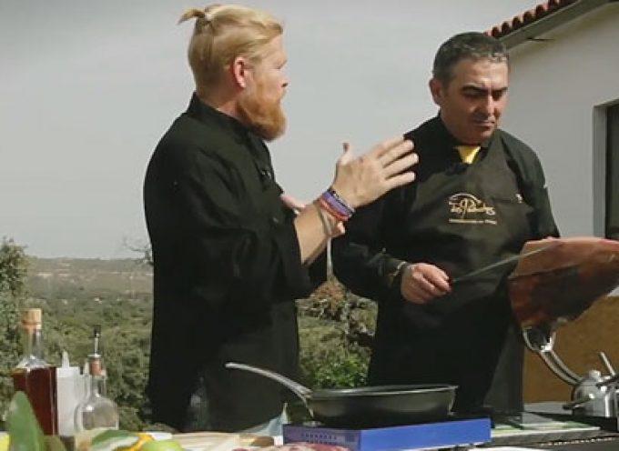 Una receta de Daniel del Toro con productos de la DOP Los Pedroches [vídeo]