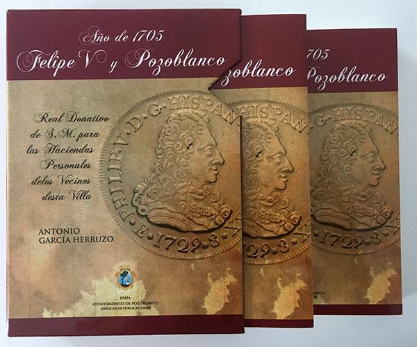 Año de 1705. Felipe V y Pozoblanco